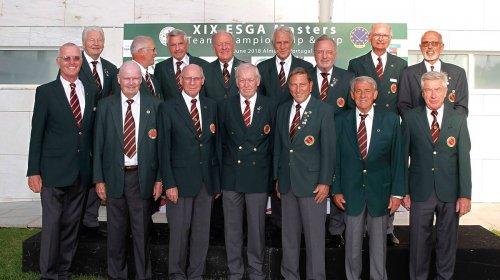 ESGA Masters 2018 in Portugal: Deutschland gewinnt die EM der 75+ Mannschaften