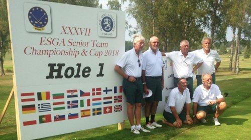 Starkes Golf bei der Europameisterschaft in Finnland