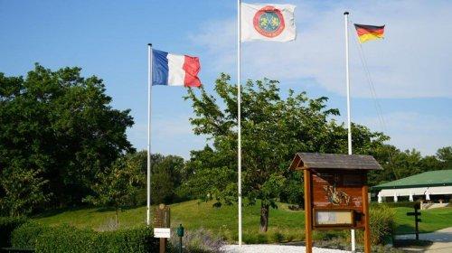 Länderspiel mit Frankreich im Golf Club de Lyon