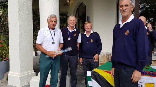 Klaus Buntebardt als bester Spieler beim 6-Länderspiel in Spa / Belgien geehrt