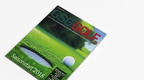 GSG Golf - Das Magazin 01.2018