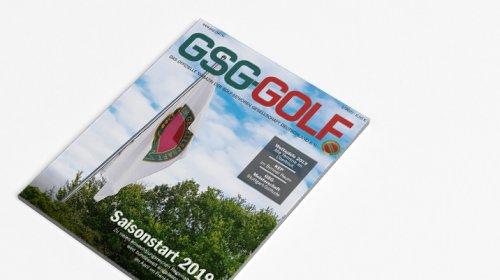 GSG Golf - Das Magazin 01.2019